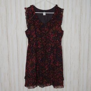 J Crew Factory Viviane floral silk dress